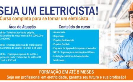 Curso Gratuito Eletricista Pronatec 2015