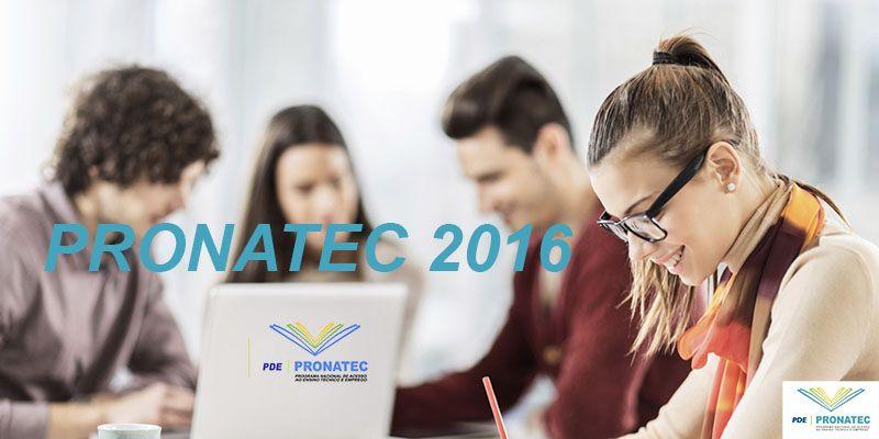 site pronatec 2016