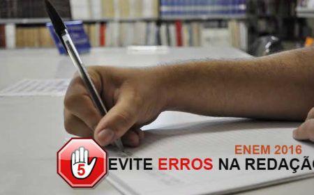 Redação do ENEM 2016 – Evite Erros