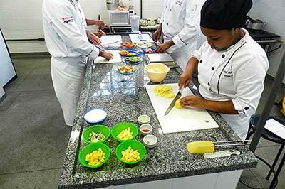 Curso Técnico em Cozinha Gratuito