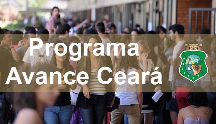 Resultado de imagem para Governo do Ceará lança edital do programa Avance - Bolsa Universitário