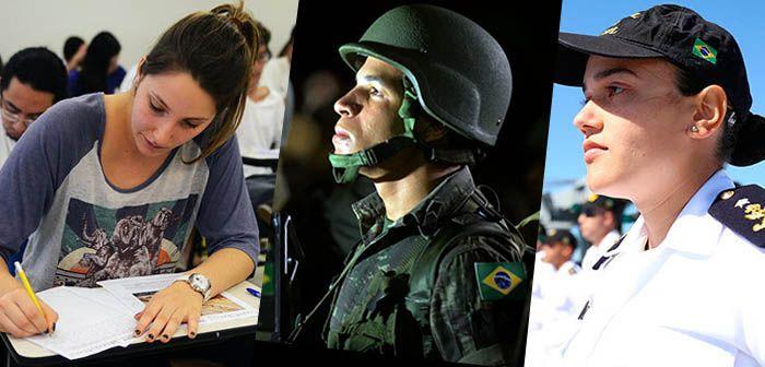 Concursos Públicos - Marinha, Exército e IBGE