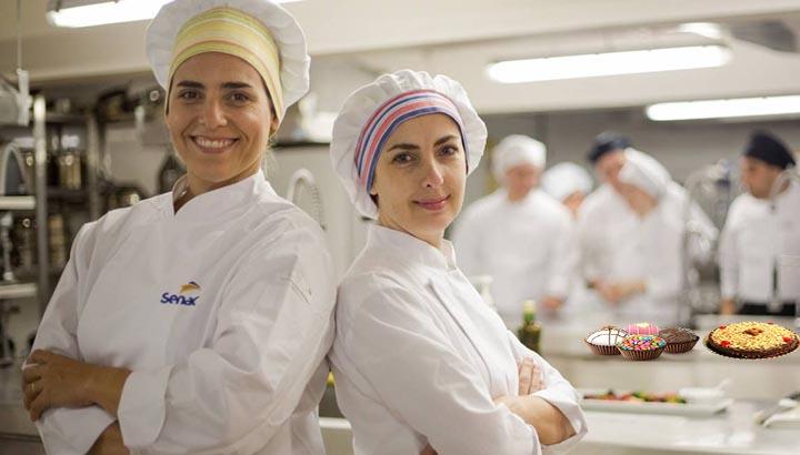 Cursos de Gastronomia Senac - Vagas Disponíveis