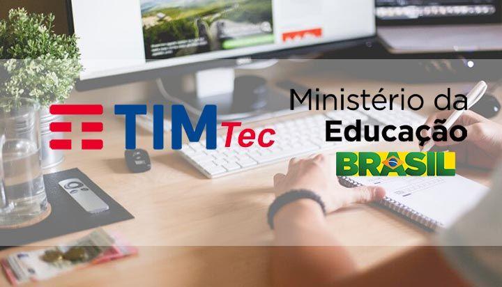 Instituto Tim e MEC Oferecem Cursos Técnicos Gratuitos