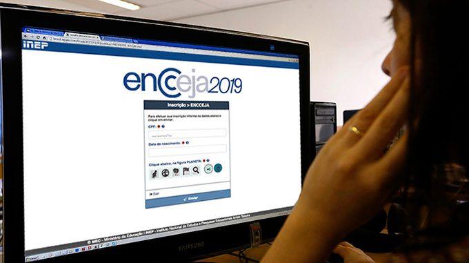 encceja página do participante 2020