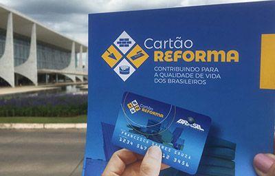 Cartão Reforma 2017