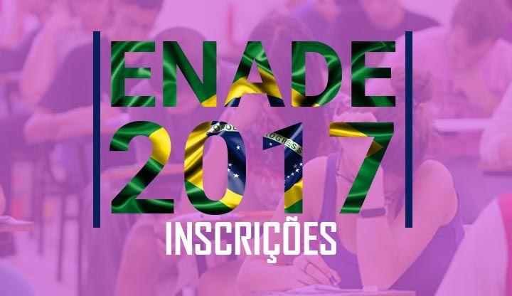Inscrições Enade 2017