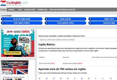 Curso Online Zap English