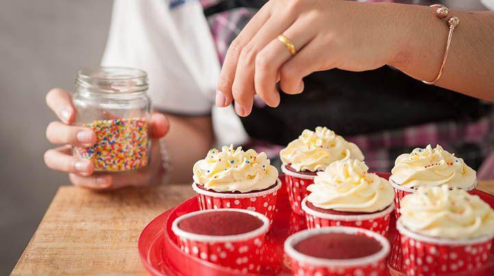 Cursos Online de Cupcake com Certificado