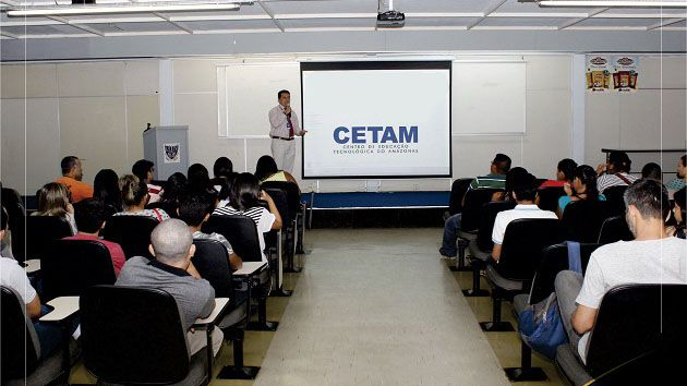Cetam Cursos Técnicos 2018