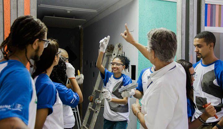 Curso Gratuito de Pintor de Obras Senai 2018