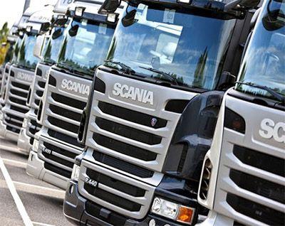 Inscrição Estágios Scania 2018