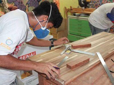 Curso de Carpinteiro de Obras Senai 2018