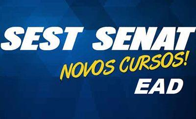 Cursos Sest Senat EaD 2018