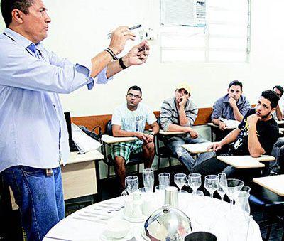 Inscrição Curso Gratuito Garçom Senac 2018
