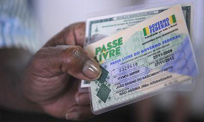Passe Livre Formulário