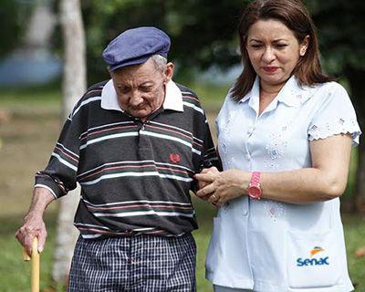 Curso Gratuito de Cuidador de Idosos Senac PSG 2018
