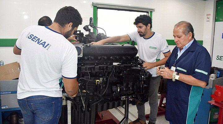 Curso de Preparação de Motores Senai 2018