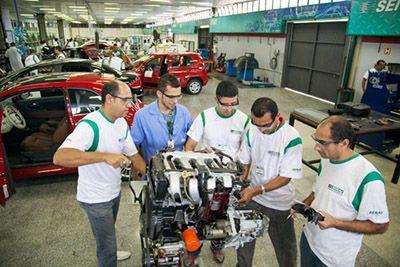 Inscrição Curso Preparação de Motores Senai 2018