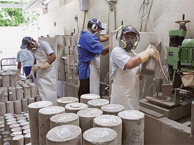 Laboratorista de Materiais de Construção o que faz