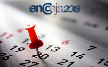 Calendário Encceja 2018