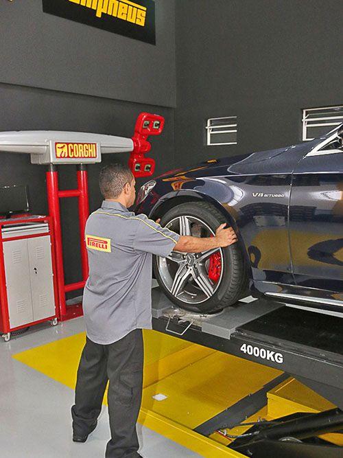 Como funciona o Estágio Pirelli 2018