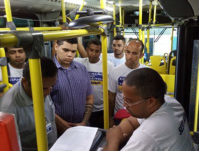 Curso Gratuito Cobrador de Ônibus Sest Senat 2018