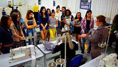 Curso Técnico em Modelagem do Vestuário 2018