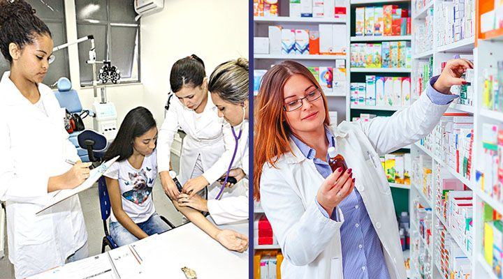Curso Técnico Gratuito de Enfermagem e Farmácia 2018