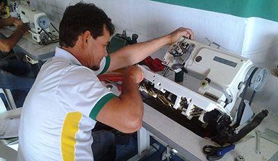 Curso de Manutenção de Máquinas de Costura Senai