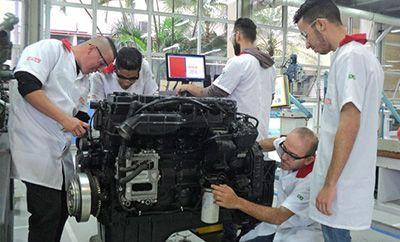 Curso de Manutenção de Motores Diesel Senai 2018