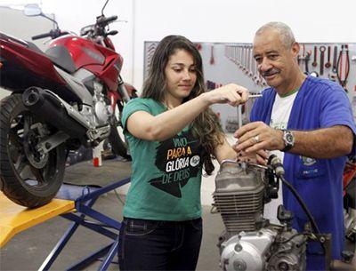 Curso de Mecânico de Manutenção em Motocicleta Senai 2018