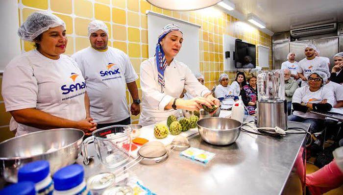 Cursos Gratuitos de Cozinha Senac PSG 2018