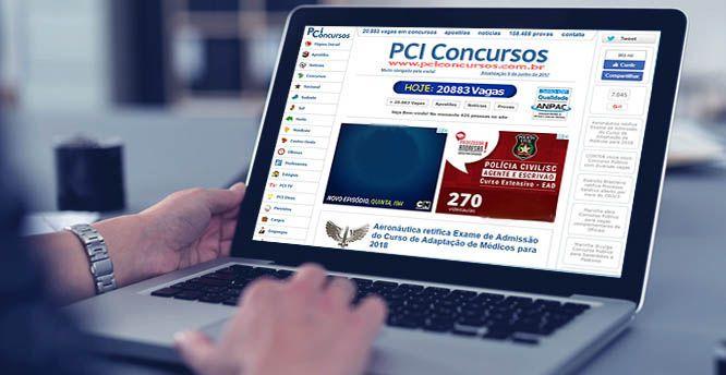 PCI Concursos Abertos 2018