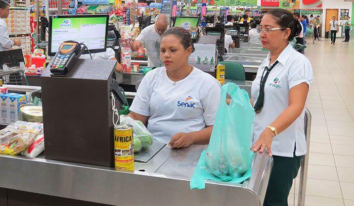 Curso Gratuito de Operador de Supermercado Senac PSG 2018