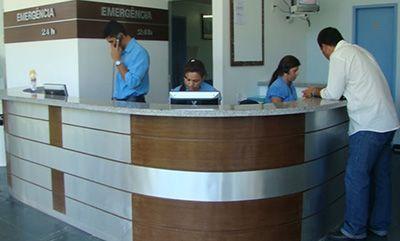 Curso de Recepção na Área de Saúde
