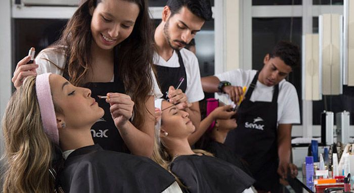 Cursos de Depilação a Linha e Maquiagem Senac Segundo Semestre 2018