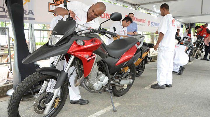 Curso de Mecânico de Manutenção de Motocicletas EaD Senai 2018