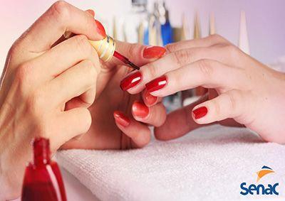 Curso gratuito de Manicure e Pedicure Senac PSG 2018