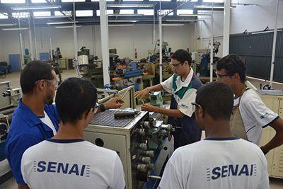 Curso Gratuito Senai Técnico Mecânica 2019