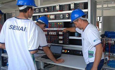 Cursos Gratuitos de Automação Industrial e Eletromecânica Senai