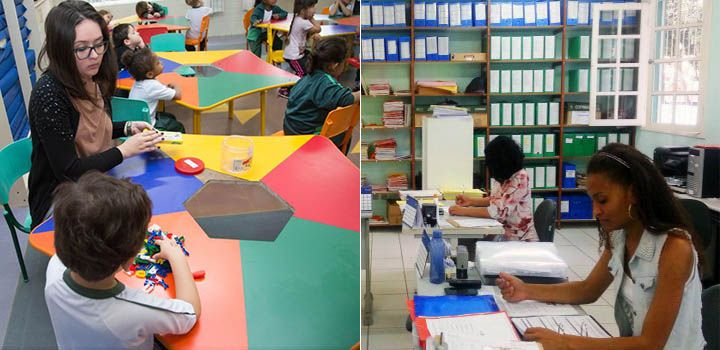 Cursos Gratuitos de Auxiliar de Secretaria e Cuidador Infantil