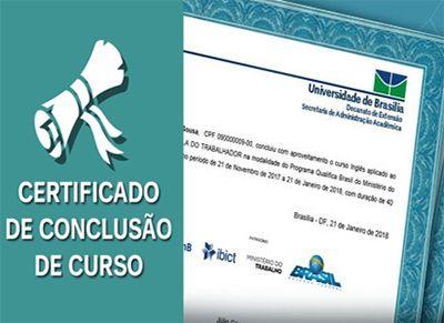 Cursos com Certificado Escola do Trabalhador