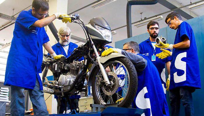 Curso Gratuito de Mecânico de Motocicletas Senai 2018