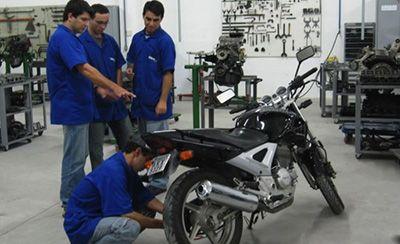 Curso Gratuito de Mecânico de Motocicletas Senai