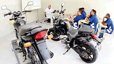 Inscrições Curso Gratuito de Mecânico de Motocicletas Senai