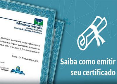 Inscrição Cursos Gratuitos com Certificado 2019