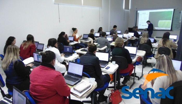 cursos profissionalizantes senac