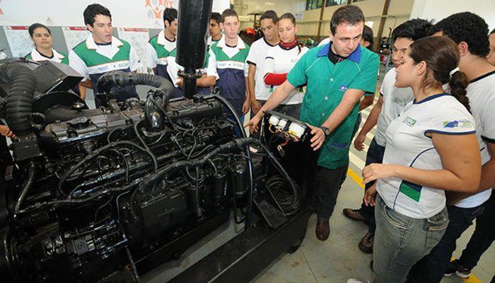 Curso Gratuito de Montador de Motores a Diesel Senai 2019