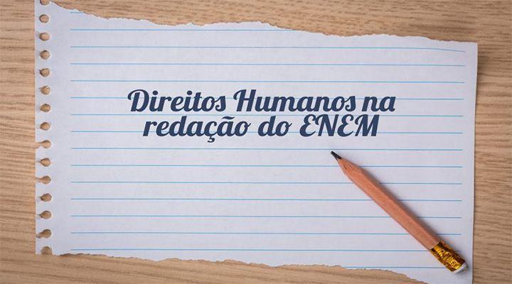 Direitos Humanos Redação Enem 2018